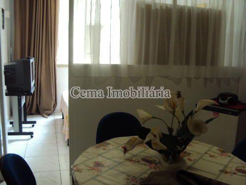 SALA DE ESTAR - Kitnet/Conjugado 38m² à venda Rua Siqueira Campos,Copacabana, Zona Sul RJ - R$ 300.000 - LJ00636 - 6