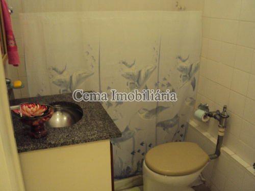 BANHEIRO - Kitnet/Conjugado 38m² à venda Rua Siqueira Campos,Copacabana, Zona Sul RJ - R$ 300.000 - LJ00636 - 10