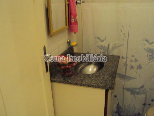 BANHEIRO ANG 1 - Kitnet/Conjugado 38m² à venda Rua Siqueira Campos,Copacabana, Zona Sul RJ - R$ 300.000 - LJ00636 - 11
