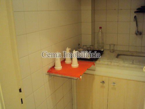 COZINHA - Kitnet/Conjugado 38m² à venda Rua Siqueira Campos,Copacabana, Zona Sul RJ - R$ 300.000 - LJ00636 - 12