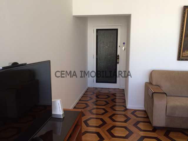 Entrada social - Apartamento à venda Rua Almirante Tamandaré,Flamengo, Zona Sul RJ - R$ 1.047.000 - LA24251 - 9