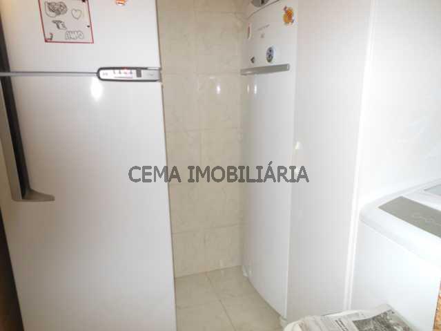 Lavanderia - Apartamento à venda Rua Almirante Tamandaré,Flamengo, Zona Sul RJ - R$ 1.047.000 - LA24251 - 14