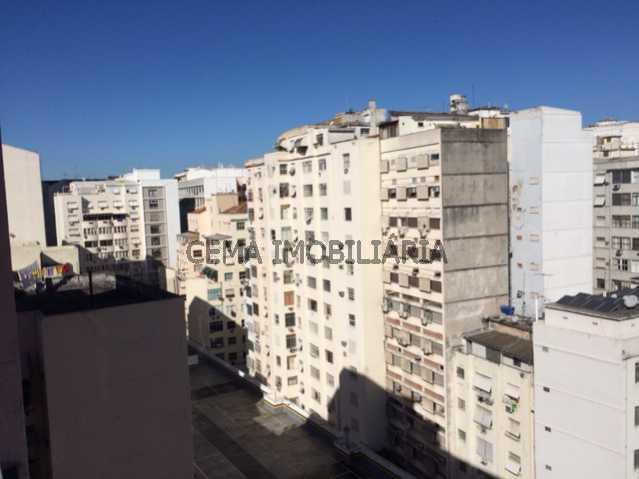 Vista da sala e dos quartos 1 - Apartamento à venda Rua Almirante Tamandaré,Flamengo, Zona Sul RJ - R$ 1.047.000 - LA24251 - 15