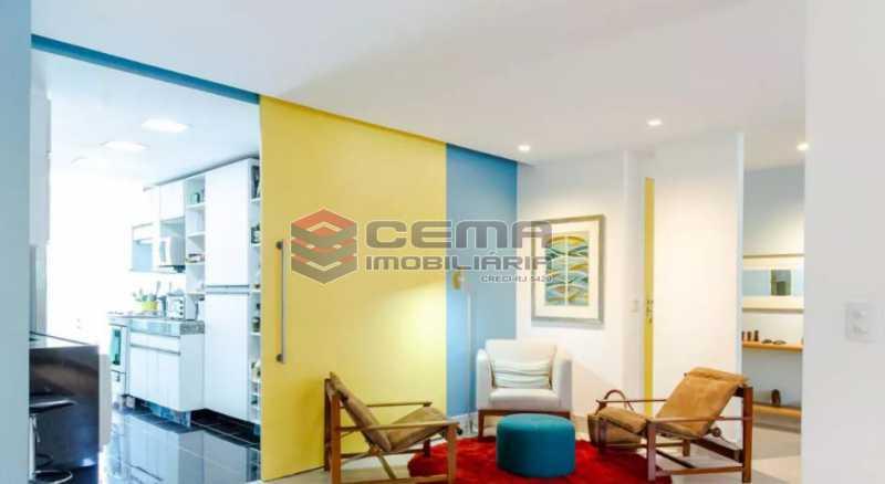 11 - Apartamento 2 quartos à venda Laranjeiras, Zona Sul RJ - R$ 1.030.000 - LA24355 - 3