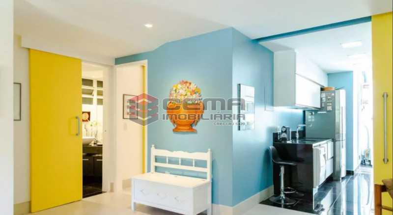 19 - Apartamento 2 quartos à venda Laranjeiras, Zona Sul RJ - R$ 1.030.000 - LA24355 - 5