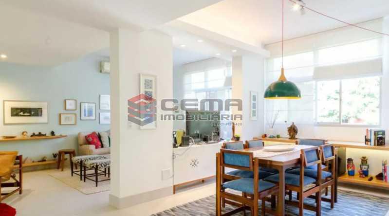 Capturar - Apartamento 2 quartos à venda Laranjeiras, Zona Sul RJ - R$ 1.030.000 - LA24355 - 1