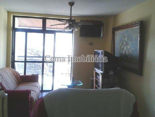 SALA - Apartamento À Venda - Maracanã - Rio de Janeiro - RJ - LA24370 - 3