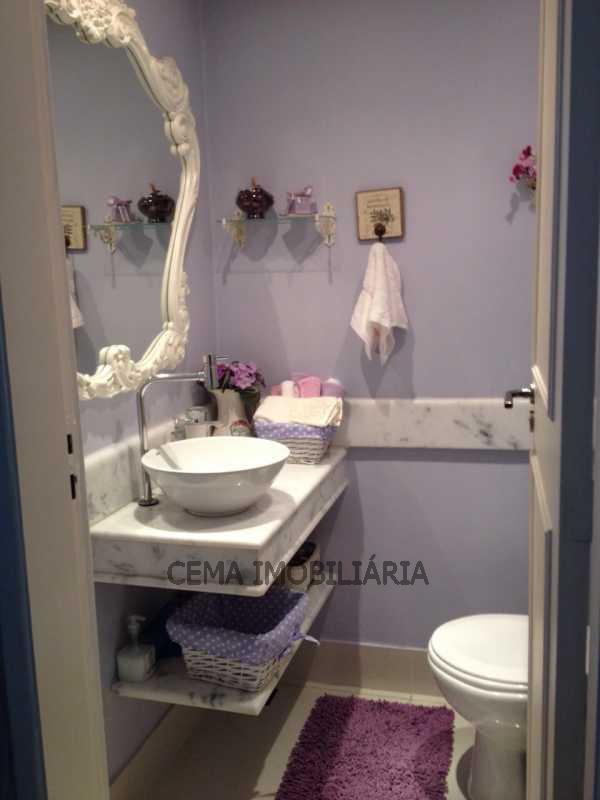 lavabo - LAAP40018 VENDA Apartamento 4 quartos Rua conde de Bomfin Usina Rio de Janeiro - LAAP40018 - 9