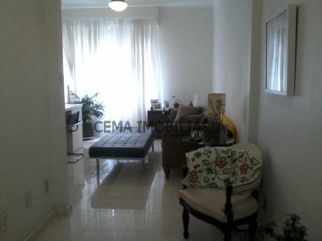 sala - Apartamento à venda Rua Barão do Flamengo,Flamengo, Zona Sul RJ - R$ 570.000 - LAAP10084 - 5