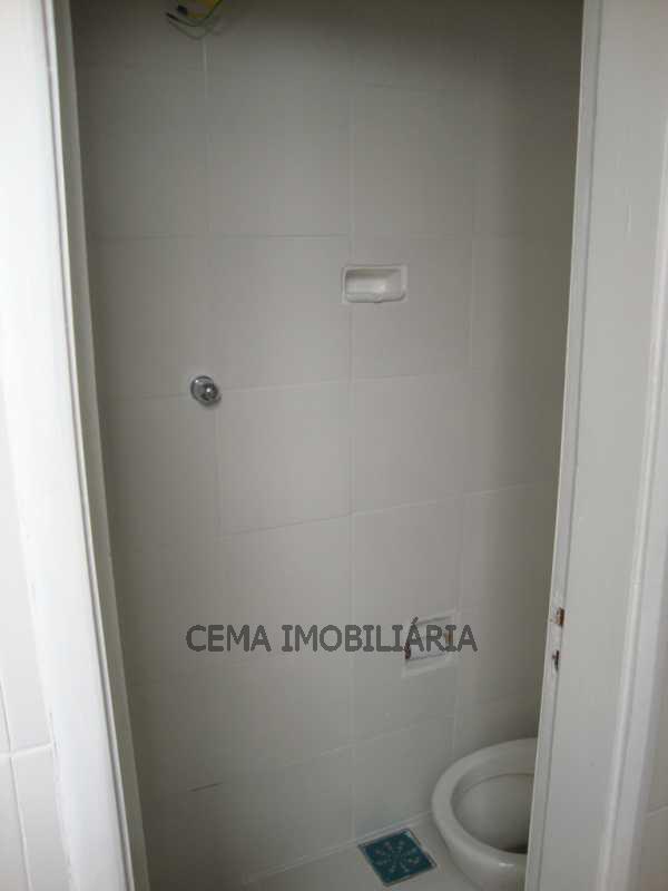 Banheiro de empregada - Apartamento 2 quartos à venda Tijuca, Zona Norte RJ - R$ 597.000 - LAAP20175 - 25