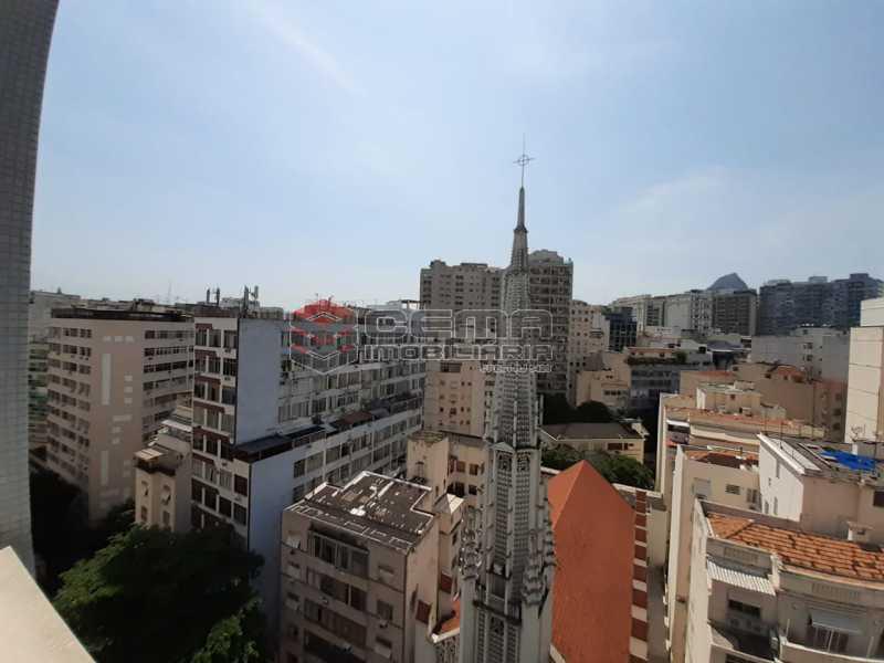 vista - Flamengo, com 2 quartos e garagem garantida. - LAAP20203 - 1