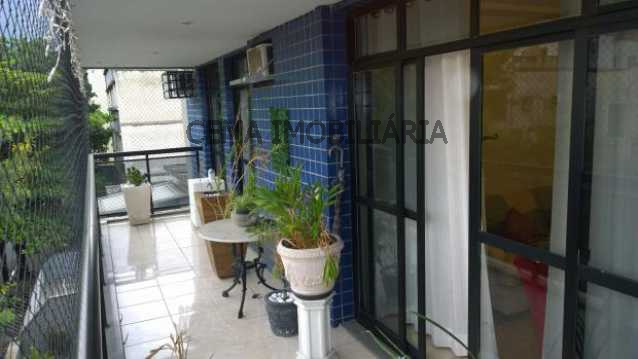 Varanda - Cobertura 3 quartos à venda Andaraí, Zona Norte RJ - R$ 950.000 - LACO30017 - 3