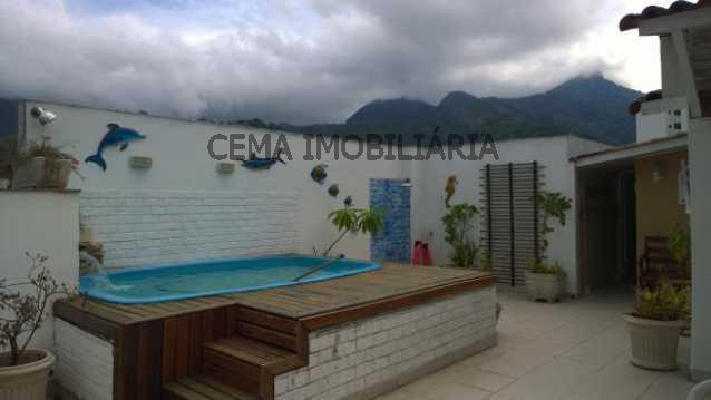 Terraço - Cobertura 3 quartos à venda Andaraí, Zona Norte RJ - R$ 1.030.000 - LACO30017 - 1