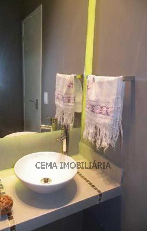 Banheiro Social - Apartamento 3 quartos à venda Copacabana, Zona Sul RJ - R$ 1.574.000 - LAAP30239 - 18