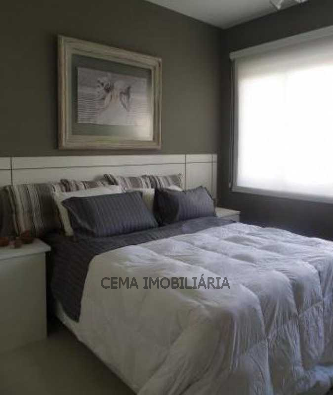 Quarto - Apartamento 3 quartos à venda Copacabana, Zona Sul RJ - R$ 1.574.000 - LAAP30239 - 12