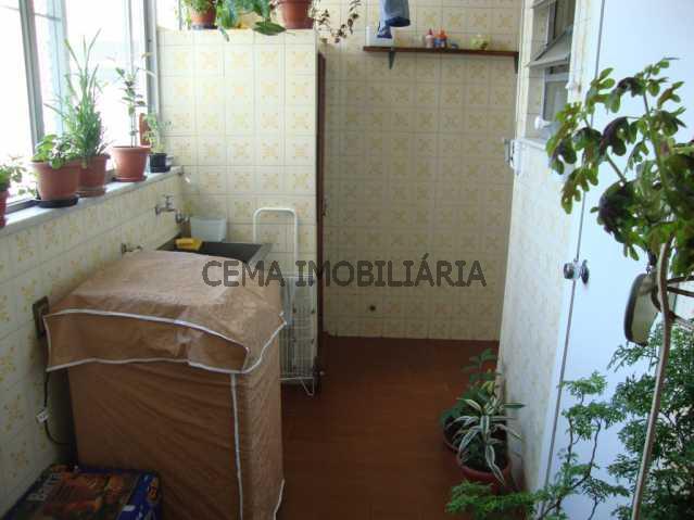 Área de Serviço - Apartamento À Venda - Tijuca - Rio de Janeiro - RJ - LAAP30242 - 28