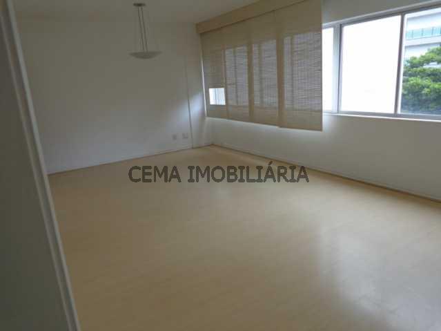 Sala - Apartamento 3 quartos à venda Leblon, Zona Sul RJ - R$ 3.300.000 - LAAP30243 - 1
