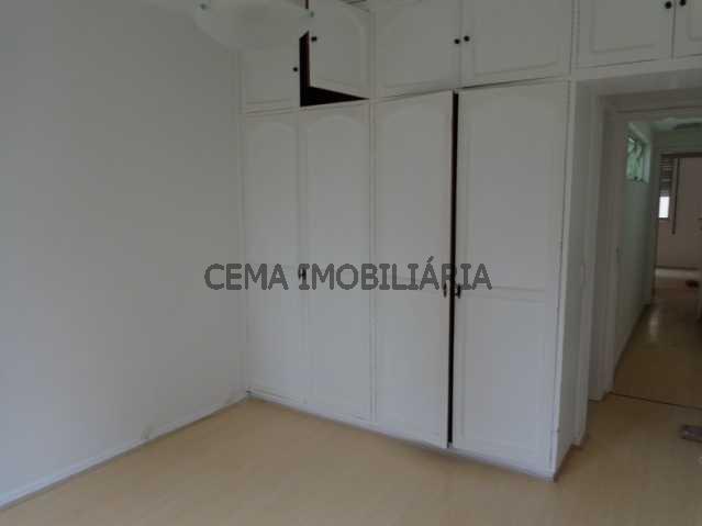 Quarto - Apartamento À Venda - Leblon - Rio de Janeiro - RJ - LAAP30243 - 3