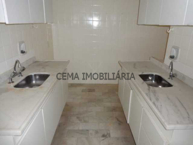 Cozinha - Apartamento 3 quartos à venda Leblon, Zona Sul RJ - R$ 3.300.000 - LAAP30243 - 4