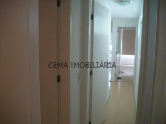 Circulação - Apartamento 3 quartos à venda Leblon, Zona Sul RJ - R$ 3.300.000 - LAAP30243 - 11