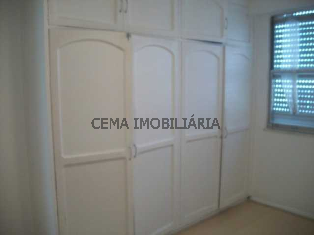 Quarto - Apartamento 3 quartos à venda Leblon, Zona Sul RJ - R$ 3.300.000 - LAAP30243 - 10
