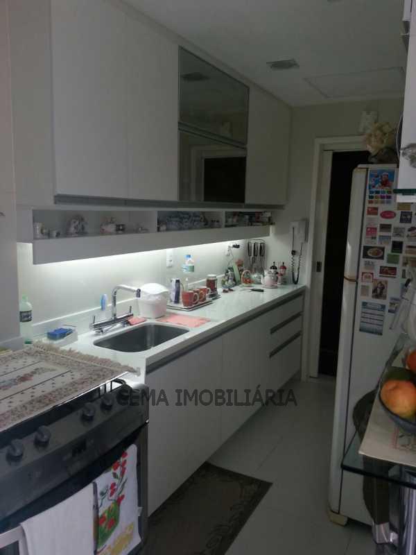 cozinha - Apartamento À Venda - Laranjeiras - Rio de Janeiro - RJ - LAAP30332 - 15