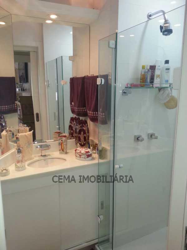 banheiro - Apartamento À Venda - Laranjeiras - Rio de Janeiro - RJ - LAAP30332 - 16