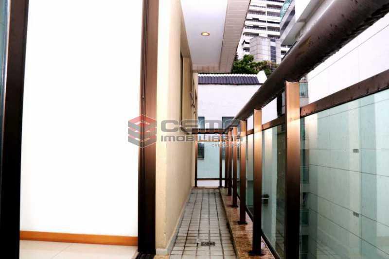 varanda - Apartamento 2 Quartos À Venda Flamengo, Zona Sul RJ - R$ 1.200.000 - LAAP20468 - 6