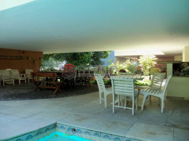 3 003 - Casa 4 quartos para venda e aluguel Cosme Velho, Zona Sul RJ - R$ 12.000 - LACA40077 - 6