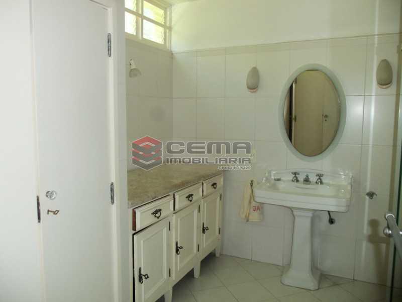 21 - Casa 4 quartos para venda e aluguel Cosme Velho, Zona Sul RJ - R$ 12.000 - LACA40077 - 17