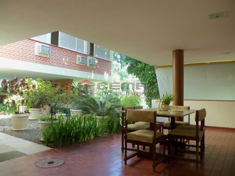varanda - Casa 4 quartos para venda e aluguel Cosme Velho, Zona Sul RJ - R$ 12.000 - LACA40077 - 1