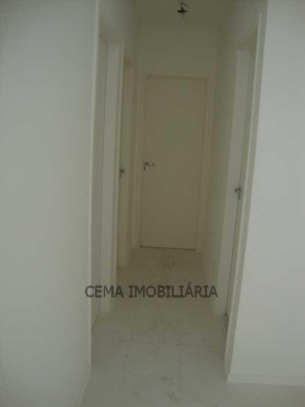 Circulação - Apartamento 3 quartos à venda Tijuca, Zona Norte RJ - R$ 530.000 - LAAP30421 - 16