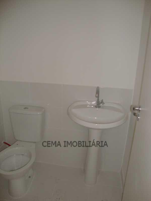 Banheiro Social - Apartamento 3 quartos à venda Tijuca, Zona Norte RJ - R$ 530.000 - LAAP30421 - 19