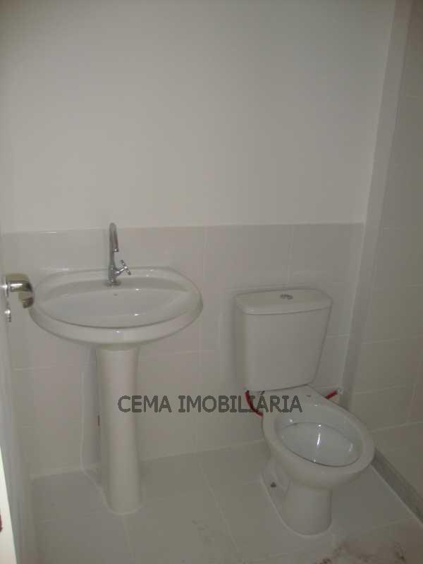 Banheiro Suíte - Apartamento 3 quartos à venda Tijuca, Zona Norte RJ - R$ 530.000 - LAAP30421 - 20