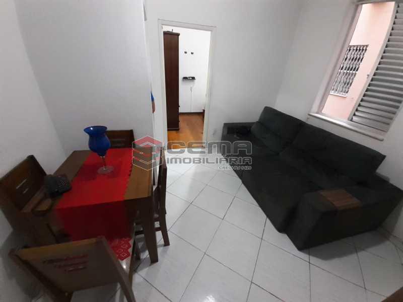 sala - Apartamento 2 quartos à venda Laranjeiras, Zona Sul RJ - R$ 470.000 - LA24577 - 1