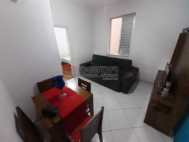 sala - Apartamento 2 quartos à venda Laranjeiras, Zona Sul RJ - R$ 470.000 - LA24577 - 3
