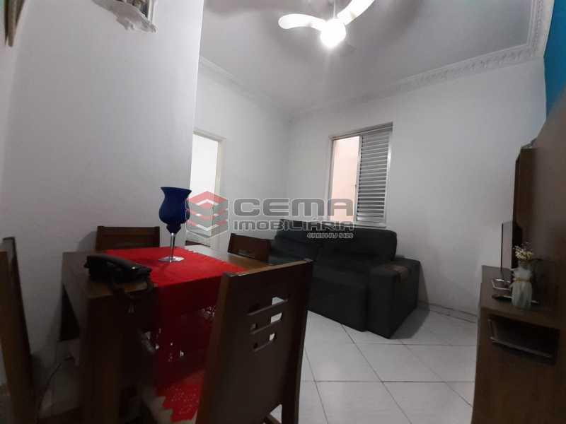 entrada - Apartamento 2 quartos à venda Laranjeiras, Zona Sul RJ - R$ 470.000 - LA24577 - 4