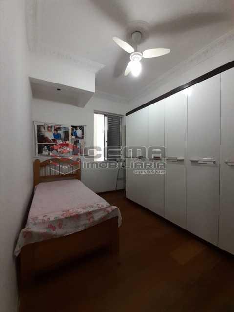 quarto - Apartamento 2 quartos à venda Laranjeiras, Zona Sul RJ - R$ 470.000 - LA24577 - 10