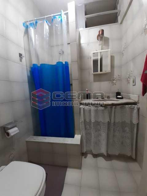 banheiro - Apartamento 2 quartos à venda Laranjeiras, Zona Sul RJ - R$ 470.000 - LA24577 - 9