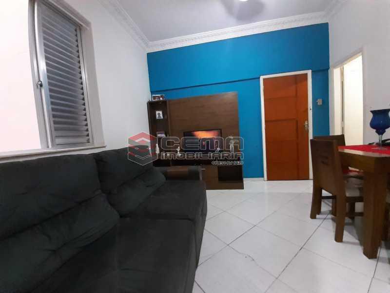 sala - Apartamento 2 quartos à venda Laranjeiras, Zona Sul RJ - R$ 470.000 - LA24577 - 6