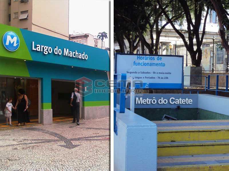 Metrô Largo do Machado Catete - Apartamento à venda Rua Senador Vergueiro,Flamengo, Zona Sul RJ - R$ 1.680.000 - LAAP40089 - 16