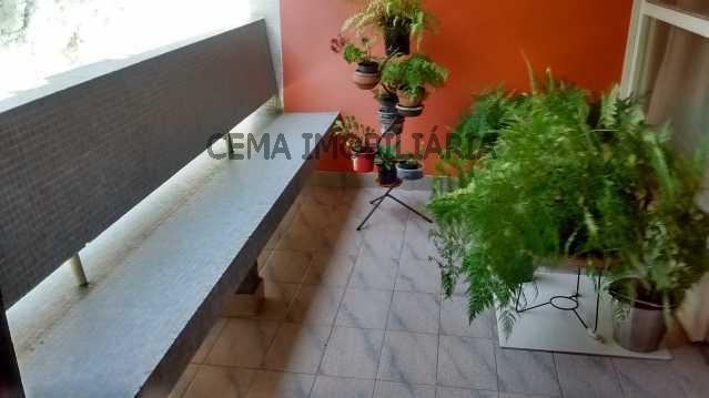 varanda  - Apartamento À Venda - Flamengo - Rio de Janeiro - RJ - LAAP30496 - 1
