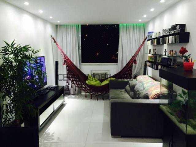 Sala ang 1 - Apartamento 3 quartos à venda Laranjeiras, Zona Sul RJ - R$ 950.000 - LAAP30497 - 23