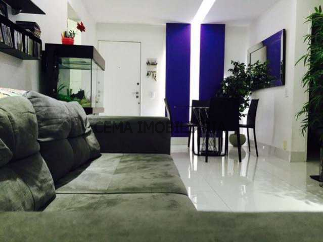 Sala - Apartamento 3 quartos à venda Laranjeiras, Zona Sul RJ - R$ 950.000 - LAAP30497 - 5
