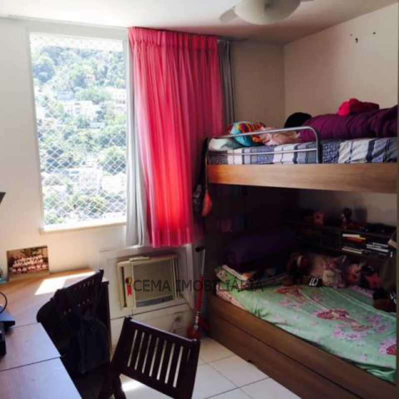 Quarto 2 ang 1 - Apartamento 3 quartos à venda Laranjeiras, Zona Sul RJ - R$ 950.000 - LAAP30497 - 16
