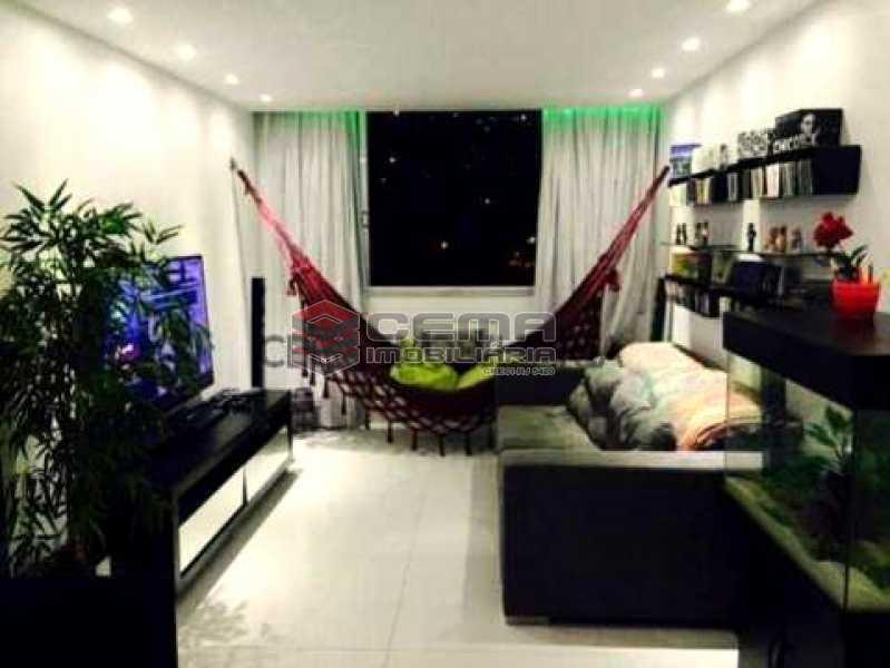 Sala - Apartamento 3 quartos à venda Laranjeiras, Zona Sul RJ - R$ 950.000 - LAAP30497 - 22