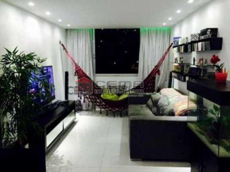 Sala - Apartamento 3 quartos à venda Laranjeiras, Zona Sul RJ - R$ 950.000 - LAAP30497 - 1