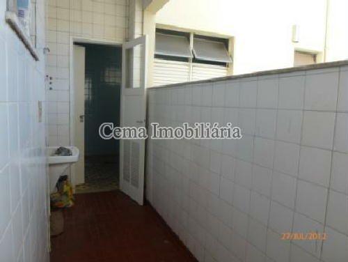 ÁREA DE SERVIÇO - Apartamento À Venda - Botafogo - Rio de Janeiro - RJ - LA32660 - 10