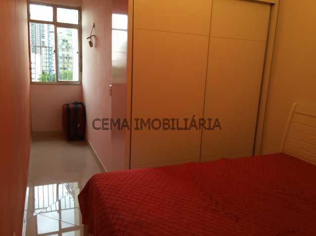 QUARTO 2 ANG 2 - Apartamento 2 quartos à venda Leblon, Zona Sul RJ - R$ 1.649.000 - LAAP20736 - 8