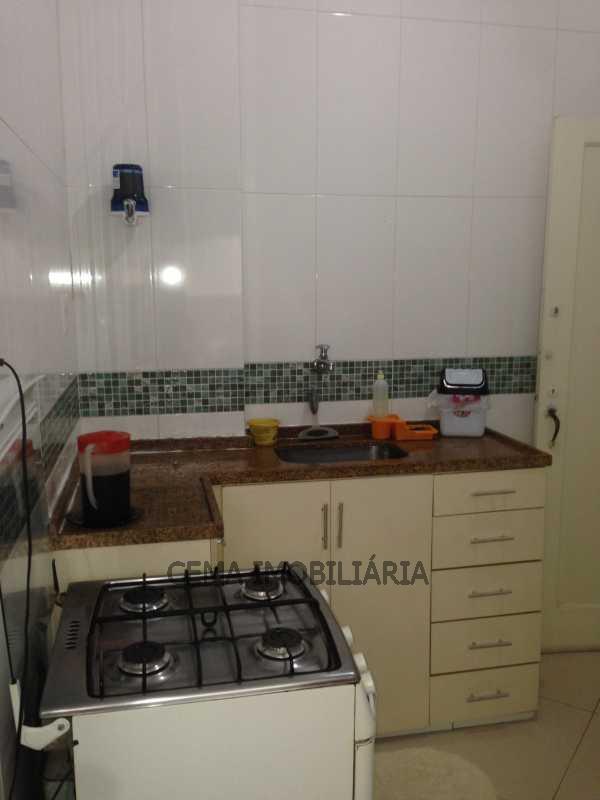 cozinha ang 2 - Apartamento À Venda - Leblon - Rio de Janeiro - RJ - LAAP20736 - 10